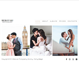 Web Site - Bebovski Photography